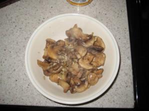 Брокколи с грибами в сливочном соусе - фото шаг 3