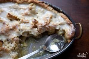 Пирог с грушами и яблоками - фото шаг 12