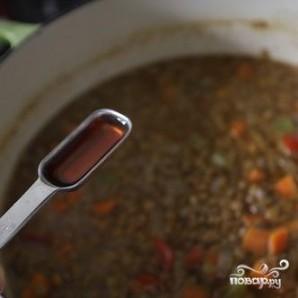 Овощной суп с чечевицей - фото шаг 5