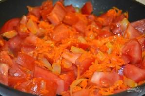 Томатный суп с лапшой - фото шаг 7