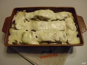 Пангасиус в духовке в сметане - фото шаг 9