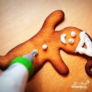 Новогоднее имбирное печенье - фото шаг 9
