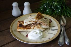 Ленивые пирожки с мясом - фото шаг 6