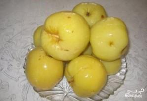 Индейка с мочеными яблоками - фото шаг 3