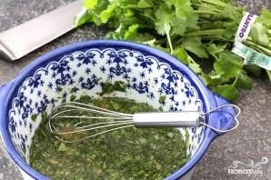Салат с квиноа и фасолью - фото шаг 1