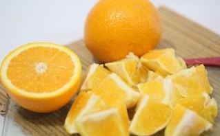 Апельсиновый фреш в блендере - фото шаг 3