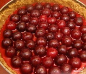 Творожно-ягодный торт - фото шаг 9