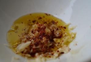Шашлык из креветок на сковороде - фото шаг 2