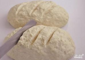 Белый хлеб в духовке - фото шаг 7