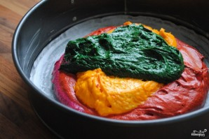 Торт Радуга с пищевыми красителями - фото шаг 6