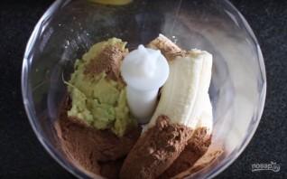 Диетическая шоколадная паста из авокадо - фото шаг 2