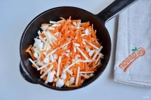 Нежный рисовый суп с курицей и шпинатом - фото шаг 3