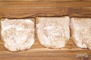 Бутерброды на шпажках - фото шаг 7