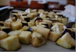 Простой салат из баклажанов - фото шаг 4