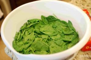 Сливочный шпинат в духовке - фото шаг 1