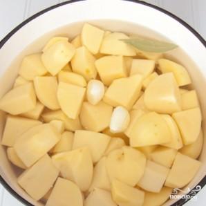 Картофель в соусе Альфредо - фото шаг 2
