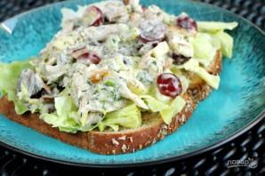 Салат с курицей и виноградом - фото шаг 9