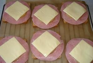 Бутерброды с ананасом - фото шаг 2