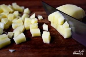 Суп из зеленого гороха - фото шаг 1