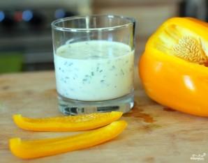 Заправка для салата из йогурта - фото шаг 7