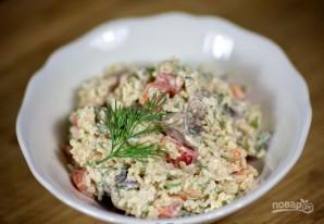 Грибной салат - фото шаг 10