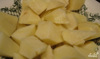 Суп из куриной грудки - фото шаг 3