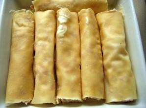 Каннеллони с ветчиной и сыром - фото шаг 6