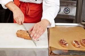 """Печенье шоколадное """"Бискотти с клюквой"""" - фото шаг 4"""