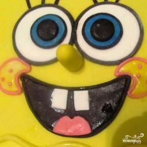 "Торт ""Губка Боб"" - фото шаг 19"