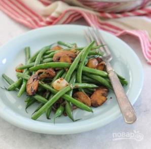 Салат из фасоли с грибами - фото шаг 8