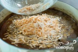 Суп с фасолью и огурцами - фото шаг 16