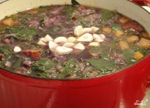 Суп из красной капусты - фото шаг 8