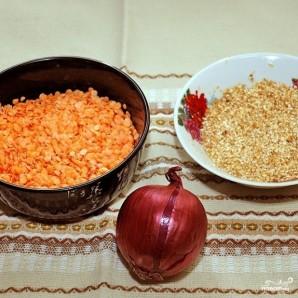 Суп из красной чечевицы - фото шаг 1