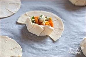 Пирожки с тыквой - фото шаг 4