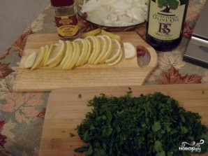 Стерлядь с лимоном - фото шаг 3