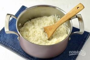 Запеканка из риса, ветчины и сыра - фото шаг 1