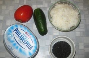 Вегетарианские роллы - фото шаг 2