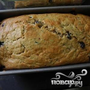 Черничный хлеб с цуккини - фото шаг 7