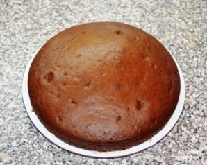 Домашний торт с вишней - фото шаг 4