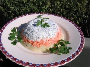 Слоеный картофельный салат - фото шаг 5