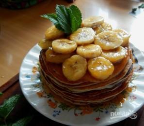 Оладьи с бананом на кефире - фото шаг 6