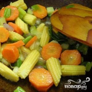 Тофу с овощами - фото шаг 2