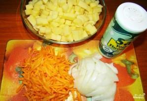 Суп из щавеля с тушенкой - фото шаг 1