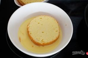 Французские тосты с яблоками - фото шаг 5