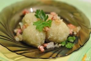 Картофельные клецки постные - фото шаг 5
