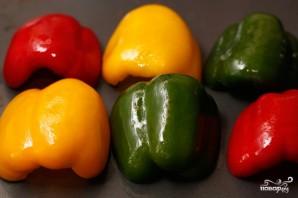 Пирог с разноцветным перцем - фото шаг 1