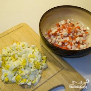 Салат из мяса краба - фото шаг 4