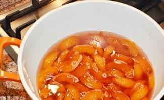 Варенье из персиков без сиропа - фото шаг 9