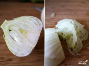 Салат из фенхеля - фото шаг 4