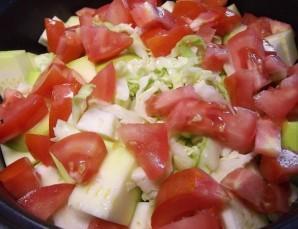 Овощное рагу в духовке - фото шаг 4